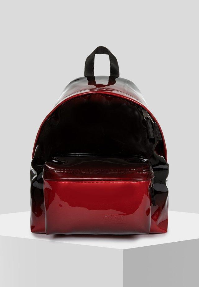 Rugzak - glossy red