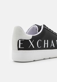 Armani Exchange - Trainers - black/optic white - 5
