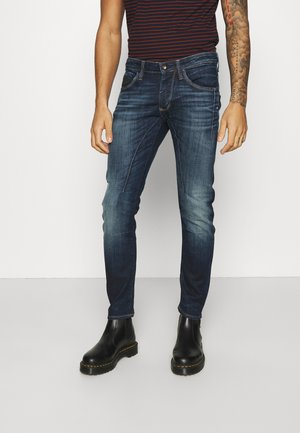 JJIGLENN JJKOBE  - Slim fit jeans - blue denim