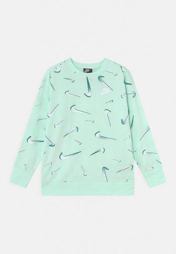 CREW - Sweatshirt - barely green/white
