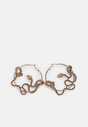 PCCAMRYN EARRINGS - Kolczyki - antique gold-coloured