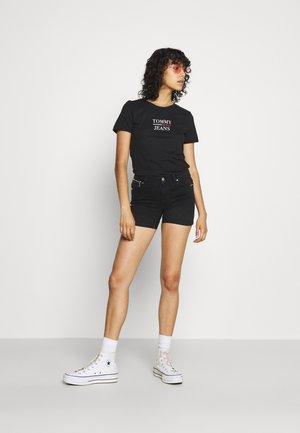 SKINNY 2 PACK  - Print T-shirt - black