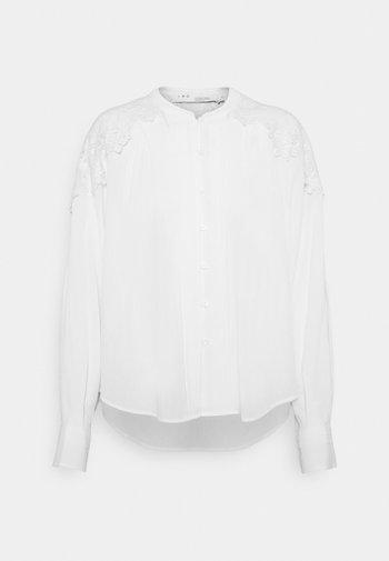 CALISTO BLOUSE - Button-down blouse - white