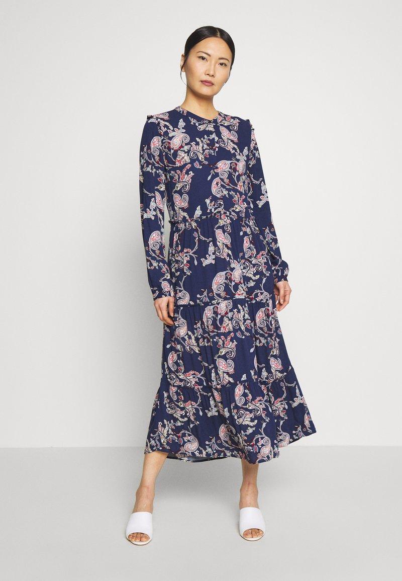 s.Oliver - KLEID - Shirt dress - eclipse