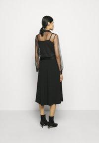 RIANI - Áčková sukně - black - 2