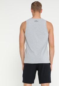 Under Armour - SPORTSTYLE LOGO TANK - Sports shirt - grey - 2