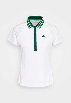 TENNIS - Polo shirt - white/swing