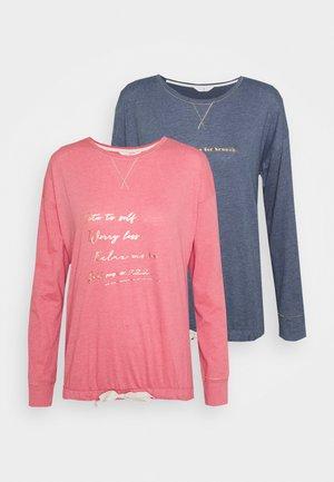 2 PACK - Maglia del pigiama - pink mix