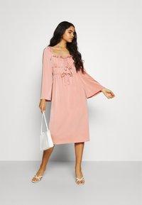 Fashion Union - MANDY DRESS - Cocktail dress / Party dress - pink - 1