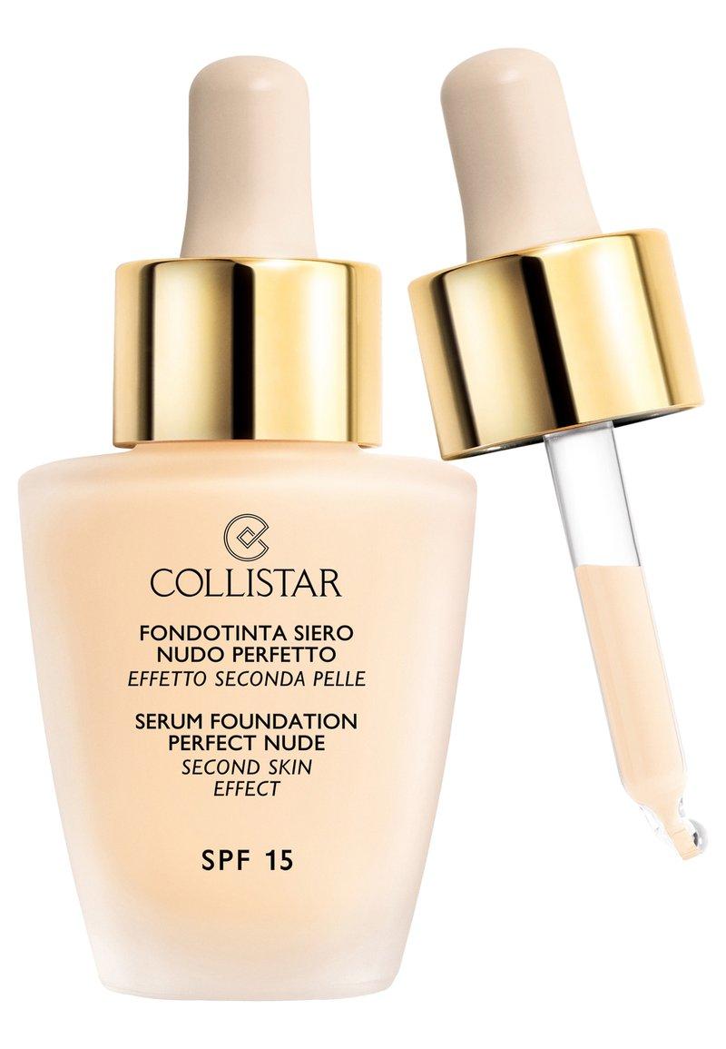 Collistar - SERUM FOUNDATION PERFECT NUDE - Foundation - n.0
