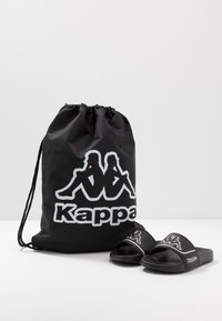 Kappa - MIRTON BEACH SET - Rantasandaalit - black/white - 0