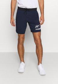 Reebok - EPIC - Pantalón corto de deporte - dark blue - 0