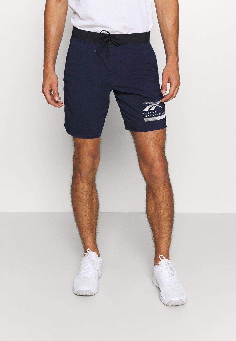 Reebok - EPIC - Pantalón corto de deporte - dark blue