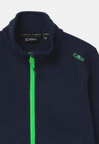 CMP - BOY - Fleece jacket - blue/verde fluo - 2