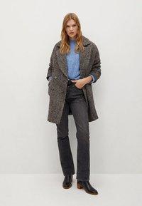 Mango - Winter coat - grijs - 1