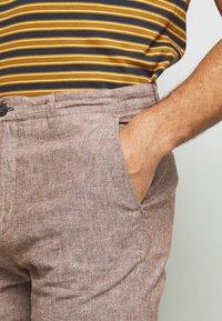 Springfield - PANT TEXTURAS - Kalhoty - dark brown - 4