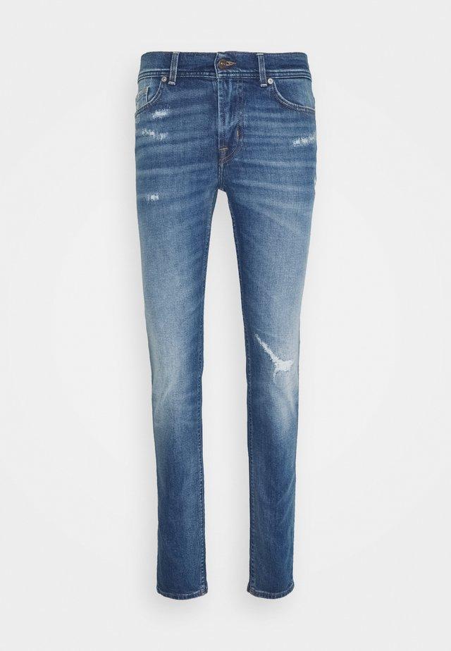 RONNIE ARIMIDBLUDIS - Slim fit jeans - mid blue