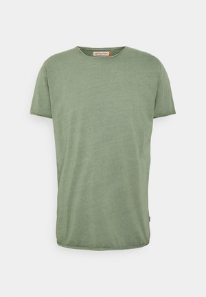 ROLL EDGE - Basic T-shirt - army