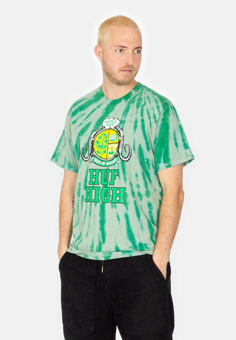 HUF - Print T-shirt - sycamore