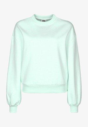 Sweatshirt - aqua melange