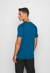 Puma - HEATHER TEE - T-shirt basic - digi-blue heather - 2