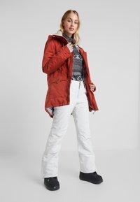 Rojo - PANT - Schneehose - glacier grey - 1