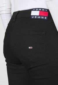 Tommy Jeans - SYLVIA SUPER SKNY - Jeans Skinny Fit - malmo black - 4