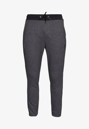 TEXTURED STRIPE TROUSER - Pantalones deportivos - grey