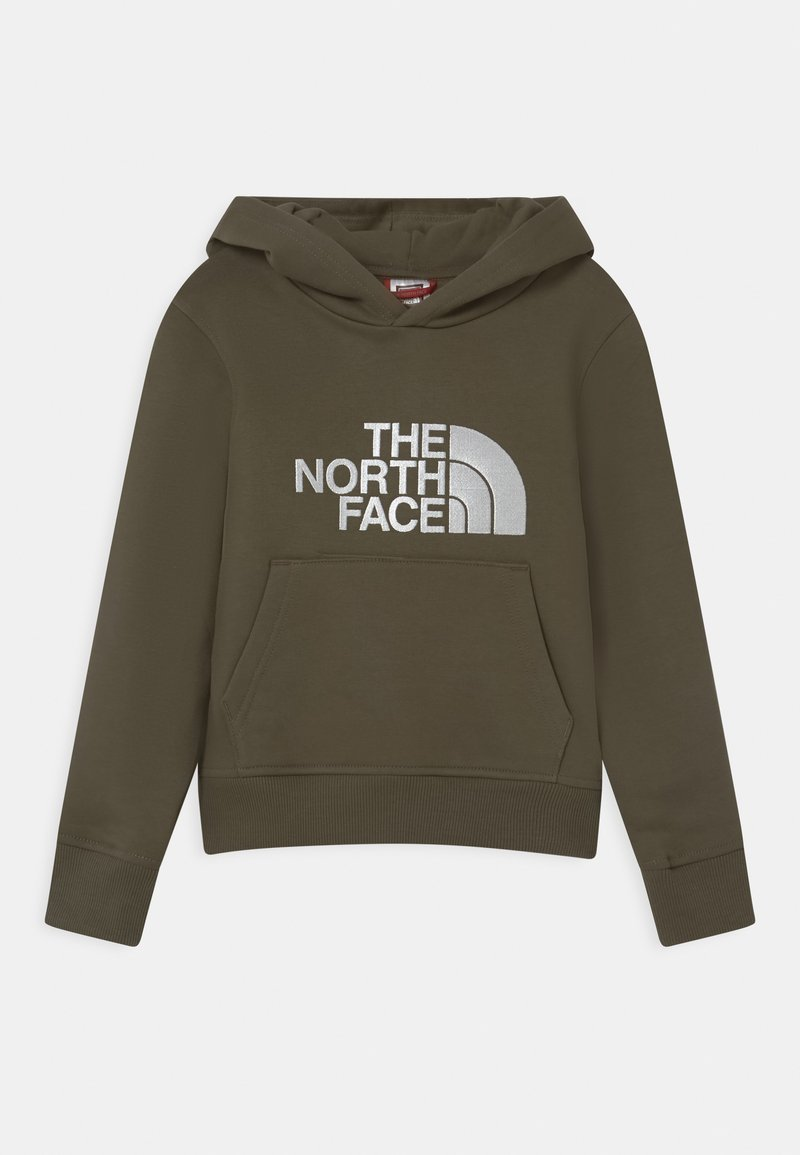 The North Face - DREW PEAK HOODIE - Hoodie - taupe/white