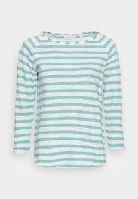 LONGSLEEVE STRIPED - Long sleeved top - aqua