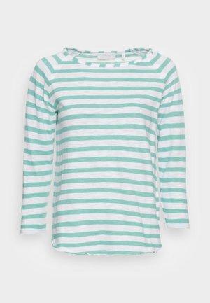 LONGSLEEVE STRIPED - T-shirt à manches longues - aqua