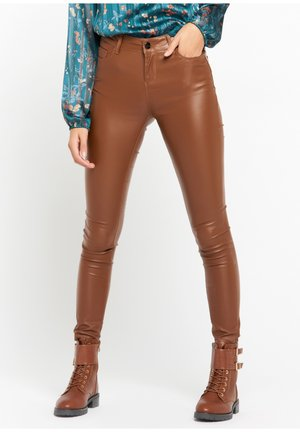 Broek - toffee brown