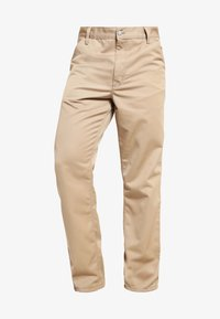 SIMPLE DENISON - Trousers - sand