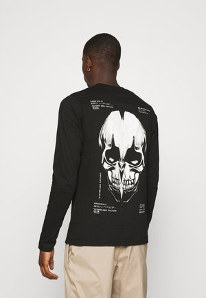 SKULL - Long sleeved top - black