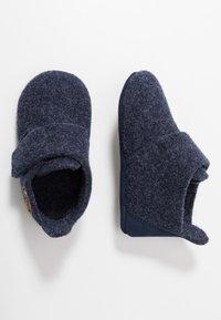 Bisgaard - BABY HOME SHOE - Domácí obuv - blue - 0