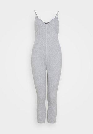 SEAM DETAIL UNITARD - Jumpsuit - grey
