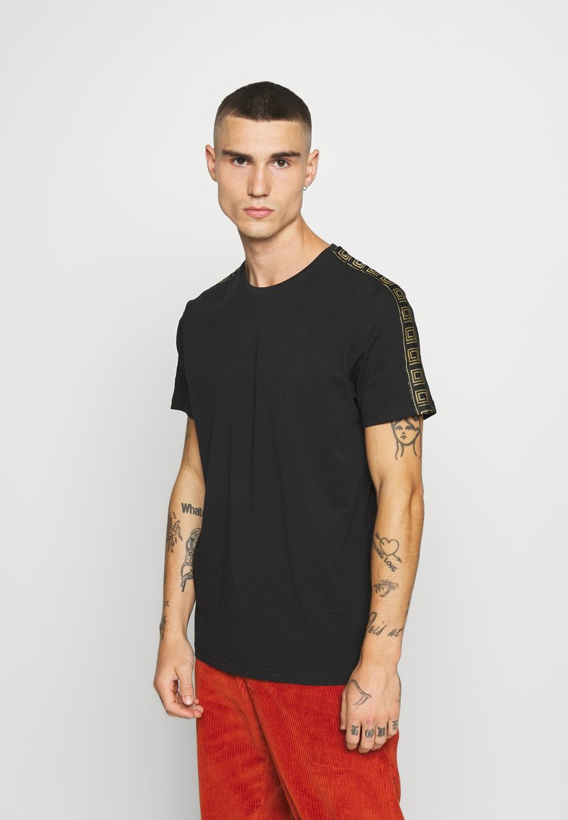 Brave Soul - HARLAND - T-shirt con stampa - black