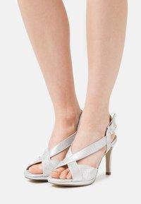 Menbur - Sandals - silver - 0