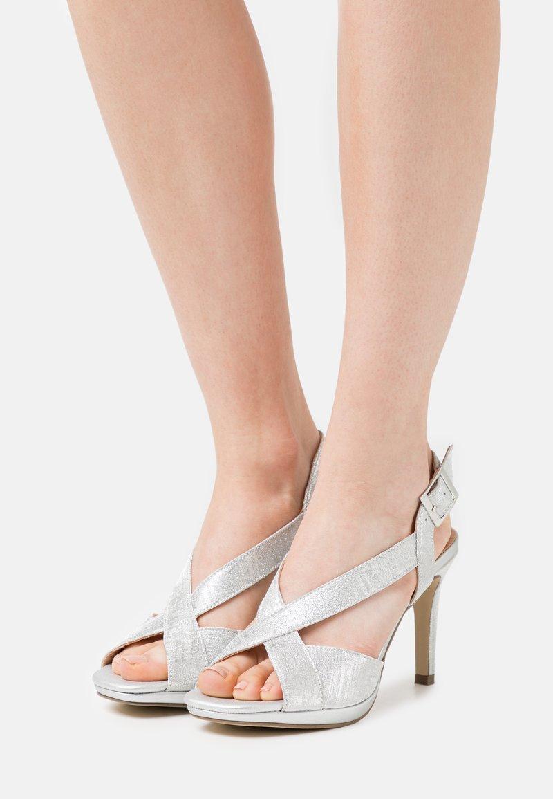Menbur - Sandals - silver