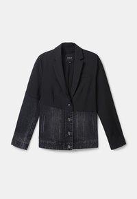 Desigual - KEREM - Giacca di jeans - black - 0