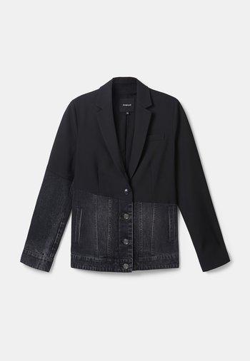 KEREM - Kurtka jeansowa - black