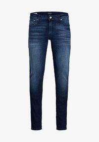 Jack & Jones - SKINNY FIT JEANS LIAM ORIGINAL JOS 283 - Jeans Skinny Fit - blue denim - 3