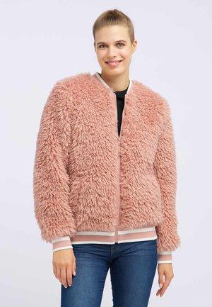 BLOUSON - Bomber bunda - light pink