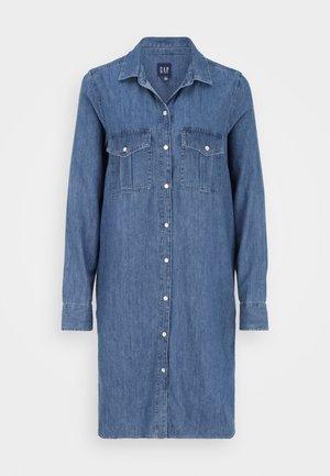 UTILITY DRESS - Day dress - blue denim
