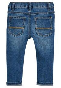Next - Jean droit - mottled blue - 1