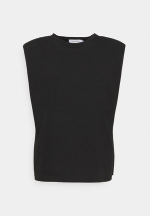 FIOLA  - Jednoduché triko - pitch black