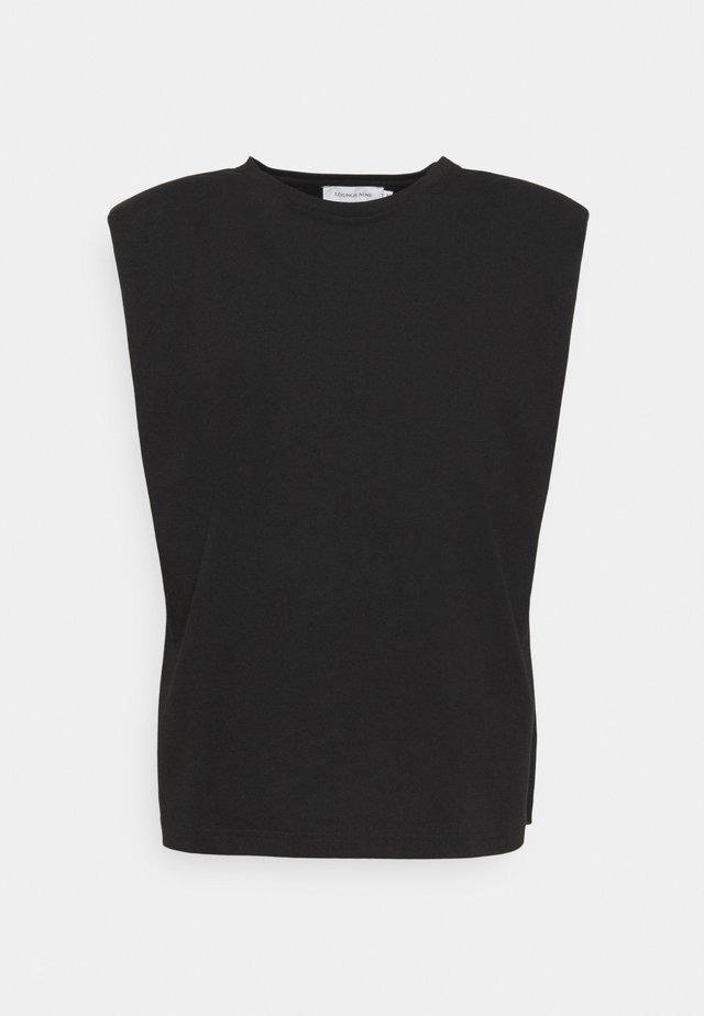 FIOLA  - T-shirt basic - pitch black