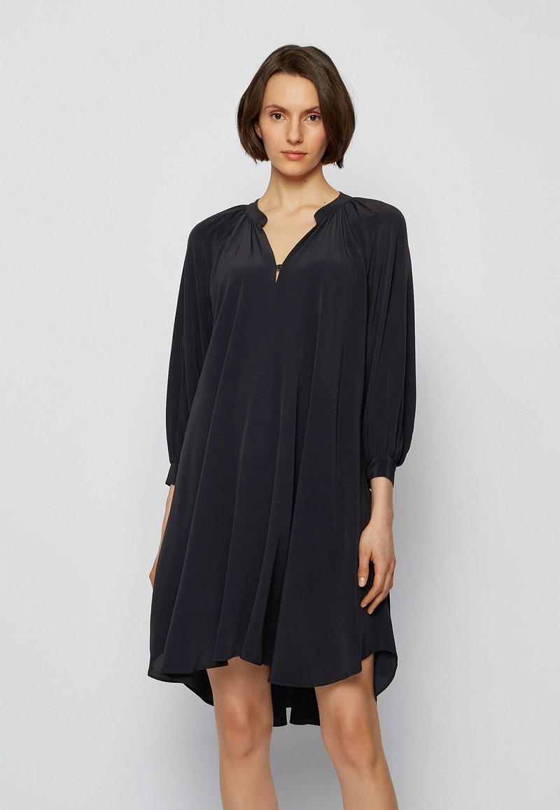 BOSS - DIFLORU - Day dress - open blue
