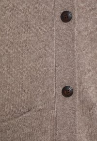 pure cashmere - LONG CARDIGAN - Gilet - taupe - 2