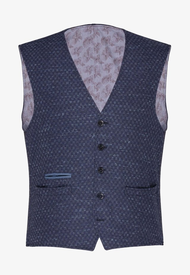 CG WILFRED - Waistcoat - blue
